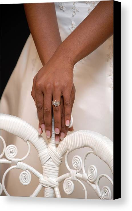 Ring Canvas Print featuring the photograph And She Said Yes by Rich Caperton