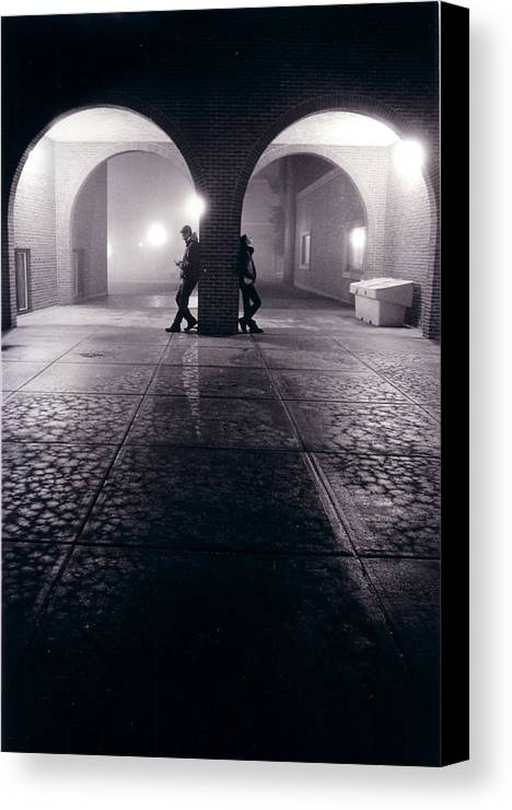 Arches Canvas Print featuring the photograph Arches by Jeff Porter