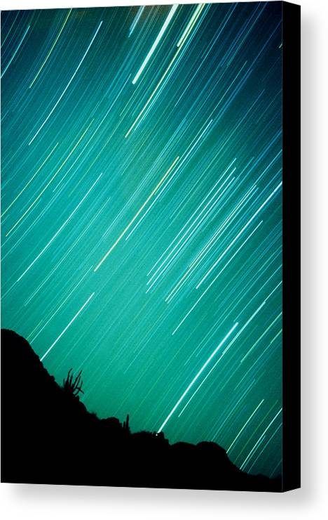 Photography Canvas Print featuring the photograph Baja Starry Night by Benjamin Garvey