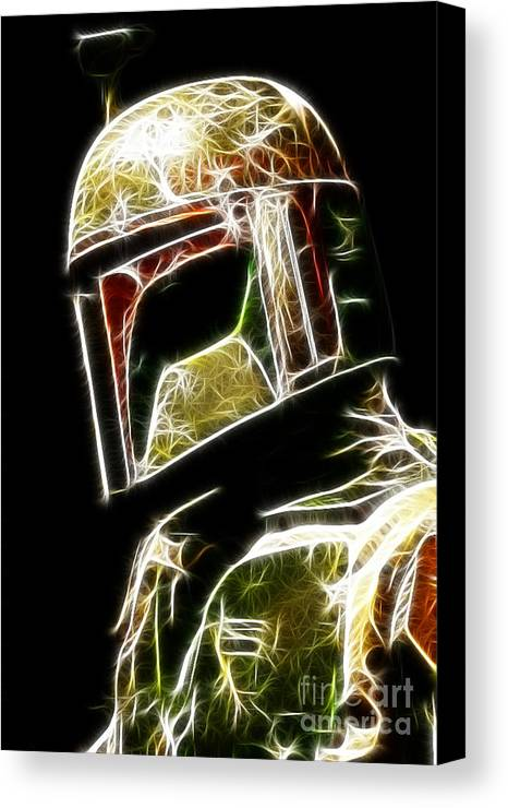 Boba Fett Canvas Print featuring the photograph Boba Fett by Paul Ward