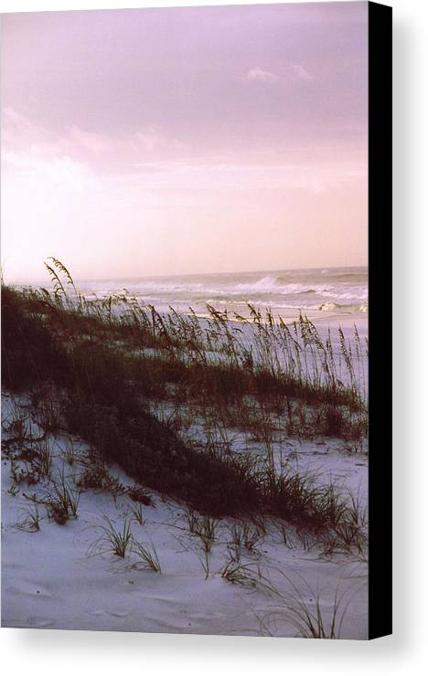 Ocean Canvas Print featuring the photograph Dune Sunrise by Deborah Gallaway
