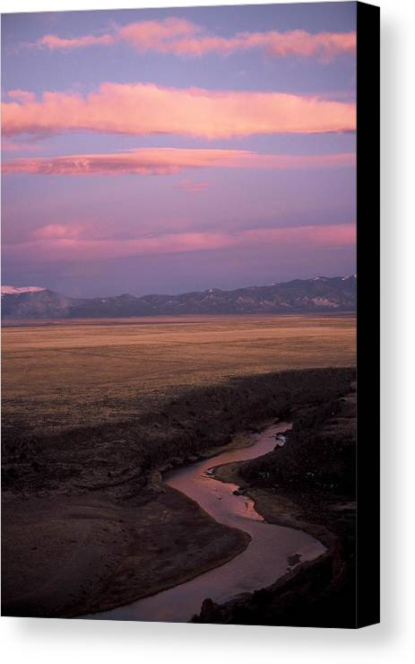 Clouds Canvas Print featuring the photograph Last Light by Lynard Stroud