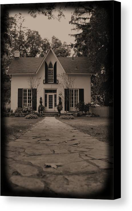 Photograph Canvas Print featuring the photograph Little House On Main St. by Ryan McIntyre