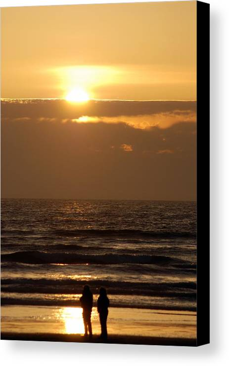 Canvas Print featuring the photograph Love by JK Photography