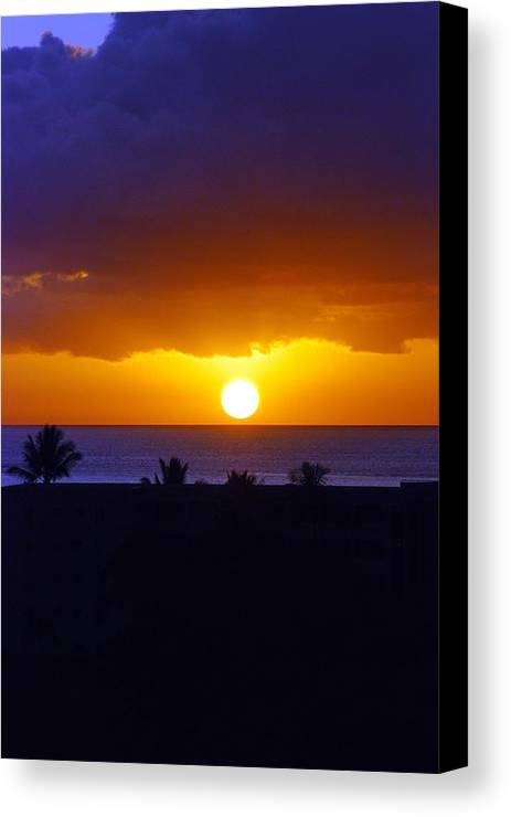 Canvas Print featuring the photograph Maui by JK Photography