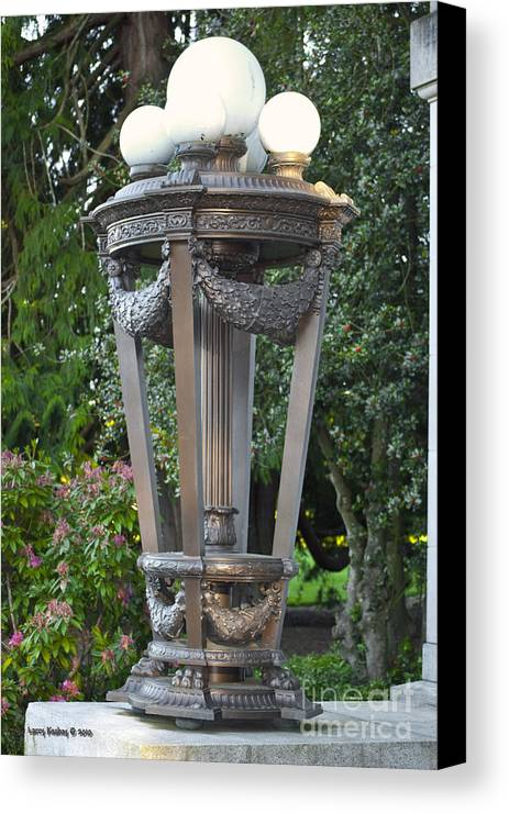 Light Canvas Print featuring the photograph Old Lighting by Larry Keahey