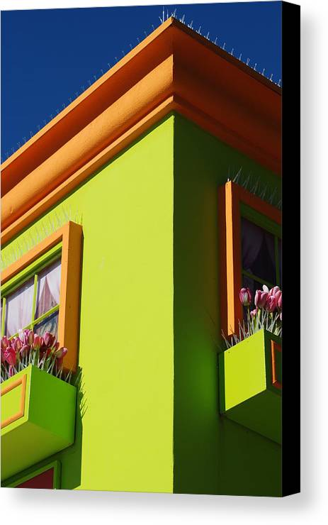 Sky Canvas Print featuring the photograph Pastle Corners by Rob Hans