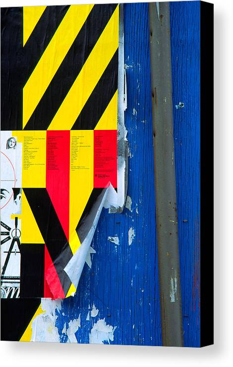 Color Canvas Print featuring the photograph Primaries by Art Ferrier