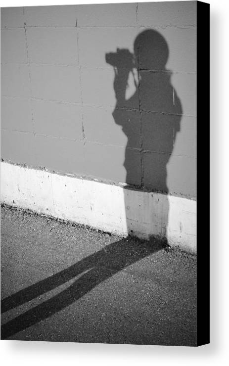 Street Photography Canvas Print featuring the photograph Shadows I Knew by The Artist Project