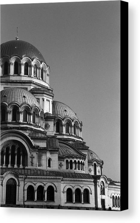 Sofia Canvas Print featuring the photograph Sophia Church by Marcus Best