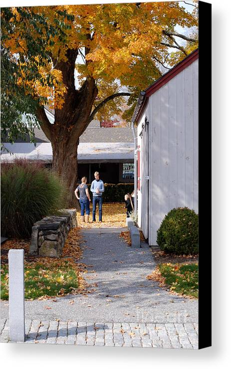 Kent Canvas Print featuring the photograph The Couple by Andrea Simon
