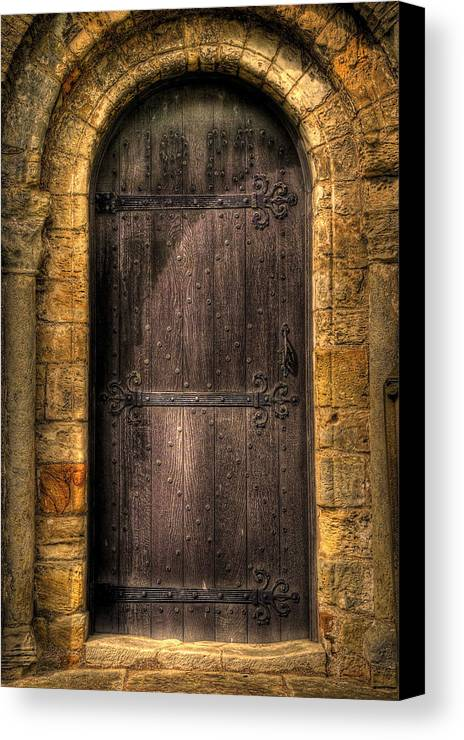 Door Canvas Print featuring the photograph The Door by Svetlana Sewell