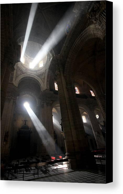 Church Canvas Print featuring the photograph The Holy Hour by Jason Hochman
