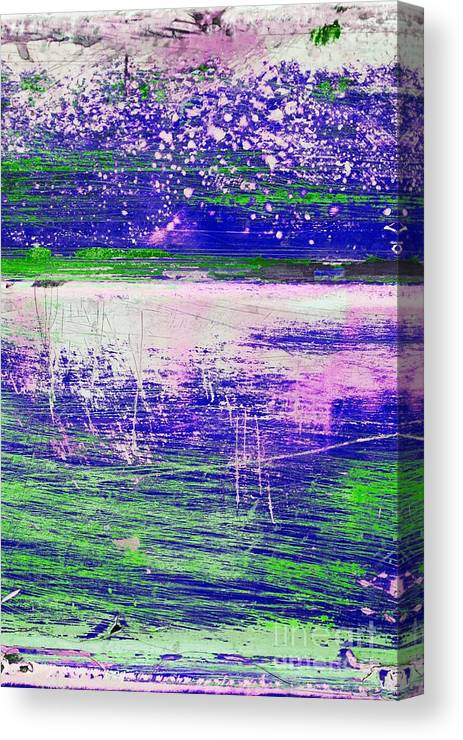 Abstract Canvas Print featuring the mixed media Aa3 1 Paint Textures Abstract Collage by Brian Raggatt