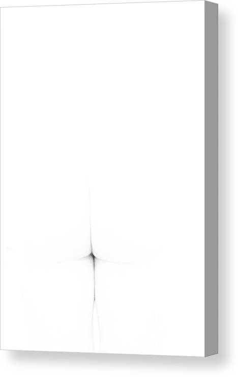 Nude Canvas Print featuring the photograph Cross by Catherine Lau