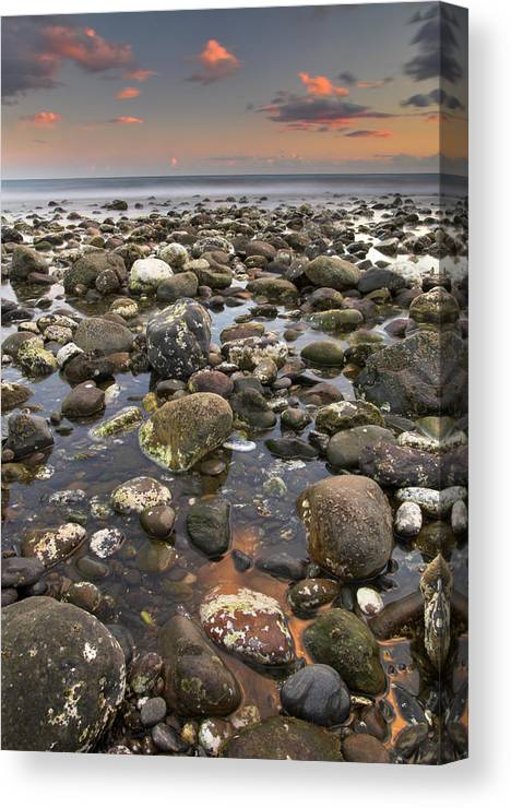 Seascape Canvas Print featuring the photograph Big Rocks by Guido Montanes Castillo