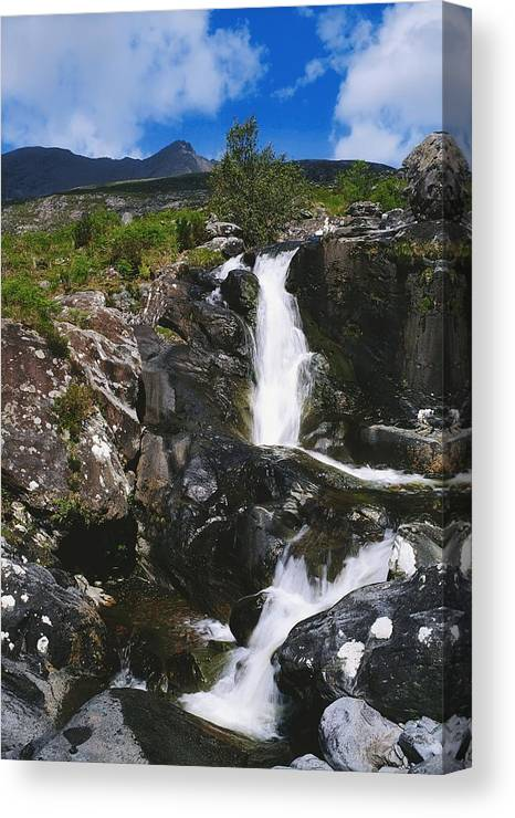 Blurred Motion Canvas Print featuring the photograph Black Valley, Co Kerry, Ireland by The Irish Image Collection