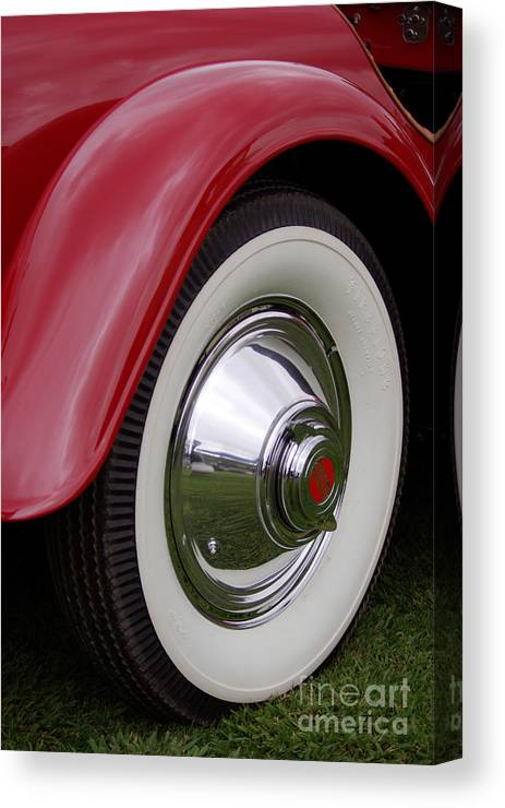 Cord Canvas Print featuring the photograph Cord Fender by Jim And Emily Bush