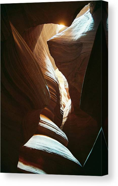 Arizona Canvas Print featuring the photograph A Spritual Light by Cathy Franklin
