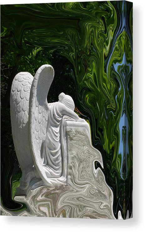 Angel Canvas Print featuring the photograph Angel by Patricia Motley