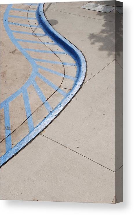 Blue Canvas Print featuring the photograph Blue Zone by Rob Hans