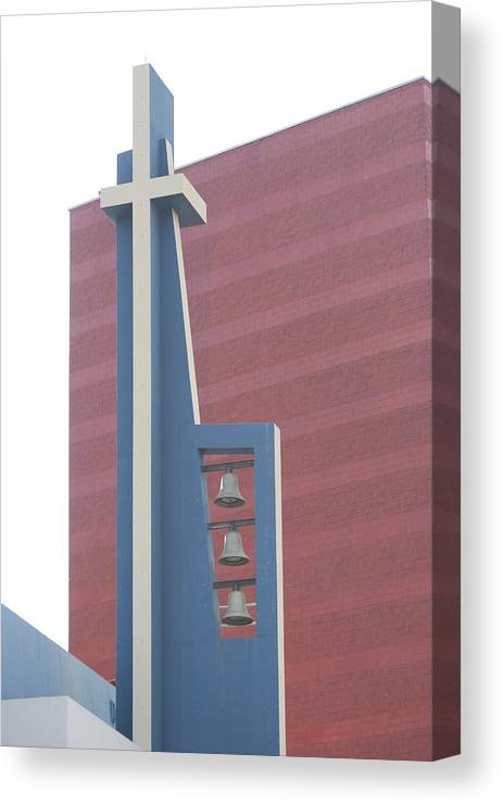 Bells Canvas Print featuring the photograph Church Bells by Rob Hans