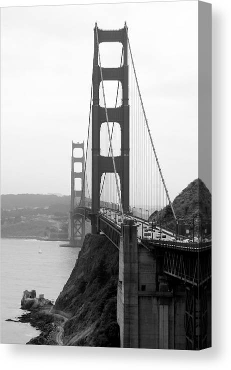 Architecture Canvas Print featuring the photograph From The North by Sonja Anderson