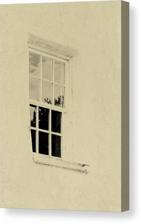 Window Canvas Print featuring the photograph Lighthouse by JAMART Photography