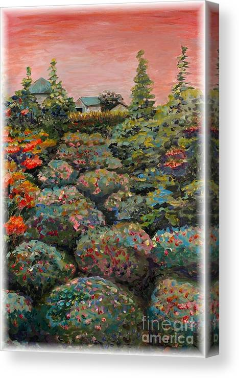 Minnesota Canvas Print featuring the painting Minnesota Memories by Nadine Rippelmeyer