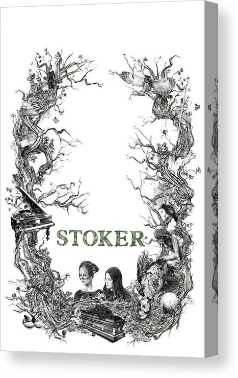 Stoker Canvas Print featuring the digital art Stoker by Paco Carnal