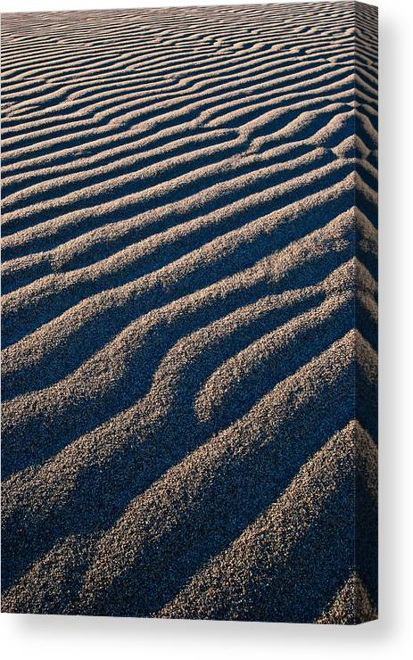 Death Valley Canvas Print featuring the photograph Untouched by Matt Halvorson