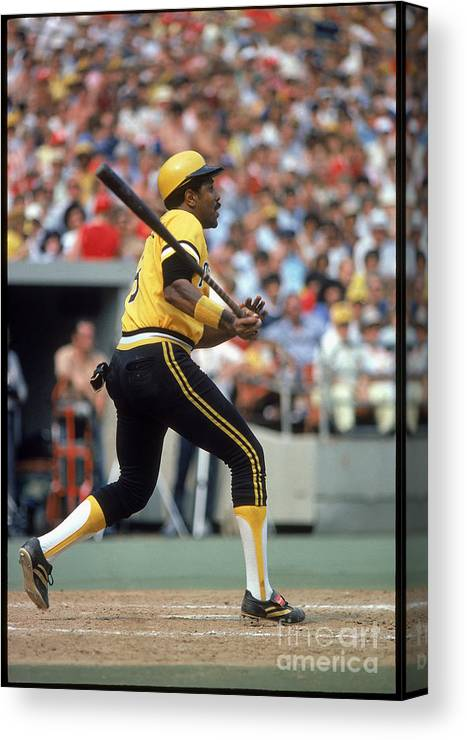 Sports Bat Canvas Print featuring the photograph Willie Stargell by Rich Pilling
