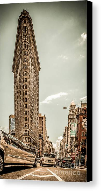 Nyc Canvas Print featuring the photograph Big In The Big Apple by Hannes Cmarits