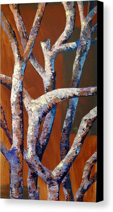 Acrylic Canvas Print featuring the painting Branches by Cathy Fuchs-Holman