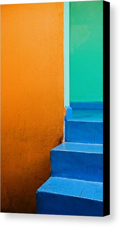 Oaxaca Canvas Print featuring the photograph Creamsicle by Skip Hunt