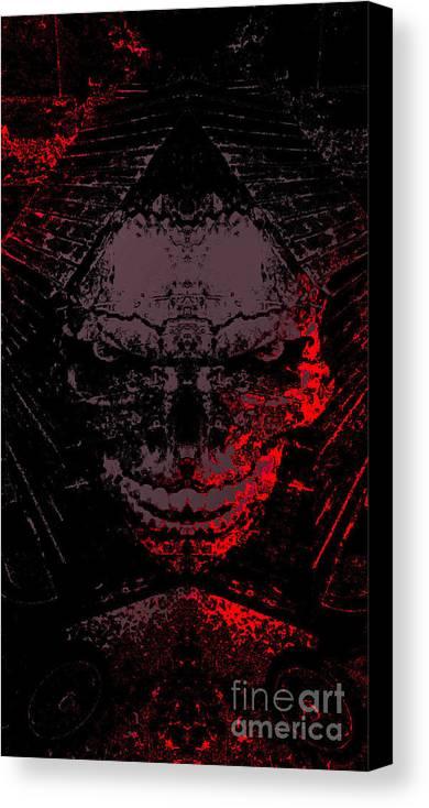 Dark Canvas Print featuring the digital art Dark by JD Poplin