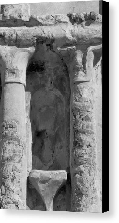 Niche Canvas Print featuring the photograph Niche by Kathy McClure