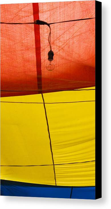 Bulb Canvas Print featuring the photograph Primary Light by Skip Hunt