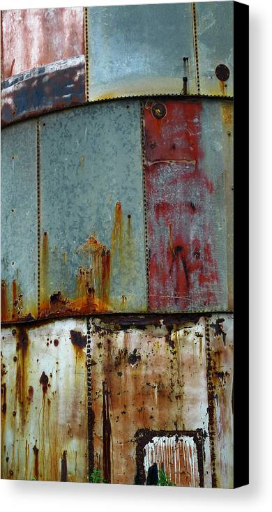 Skip Hunt Canvas Print featuring the photograph Silo Series 1 by Skip Hunt