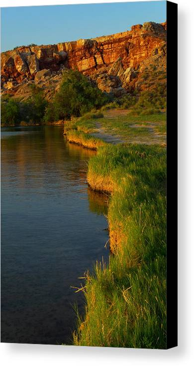Skip Hunt Canvas Print featuring the photograph The Edge by Skip Hunt
