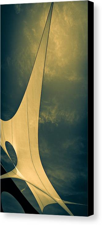 Abstract Canvas Print featuring the photograph Canvas Sky by Bob Orsillo