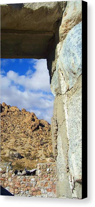 Landscape Canvas Print featuring the photograph Outside Looking Inside Out by Glenn McCarthy Art and Photography