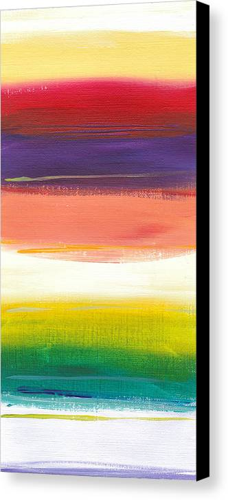 Summer Canvas Print featuring the painting Summer Stripes by Chelsie Ring