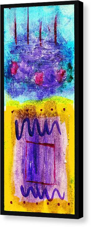 Abstract Canvas Print featuring the painting I Hear The Thunder by Arnold Isbister