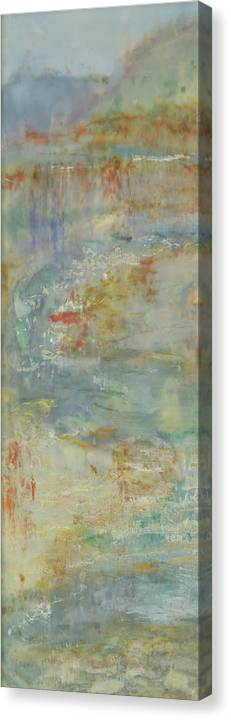 Vertical Canvas Print featuring the painting Send Rain I by Shima Shanti