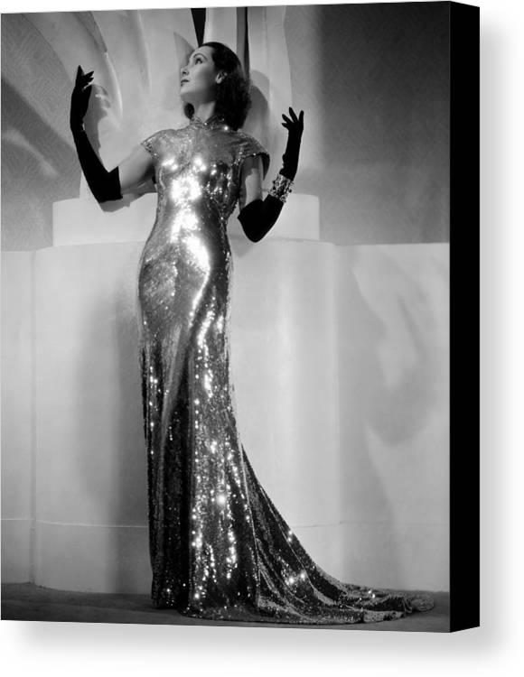 1930s Fashion Canvas Print featuring the photograph International Settlement, Aka Shanghai by Everett