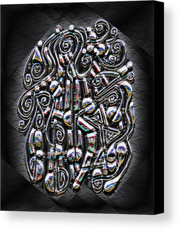 Surrealism Canvas Print featuring the digital art Gate To Mystery by Mark Sellers