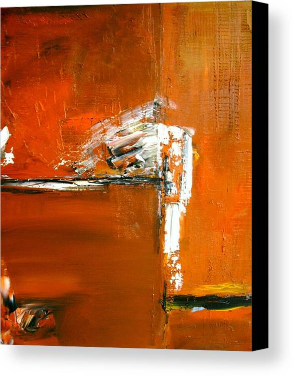 Abstract Canvas Print featuring the painting Unravelling The Chaotic Vision by Stefan Fiedorowicz