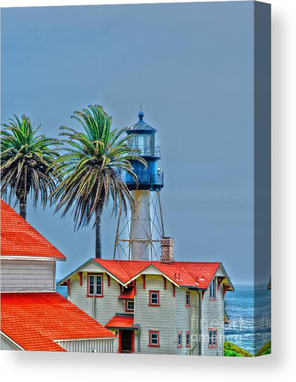 Lighthouse Canvas Print featuring the photograph Lighthouse by Baywest Imaging