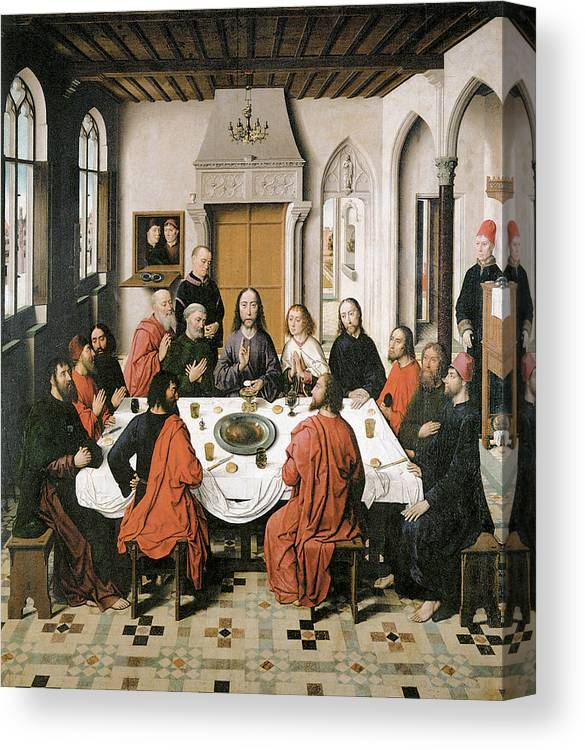 The Last Supper Canvas Print / Canvas Art by Dieric Bouts